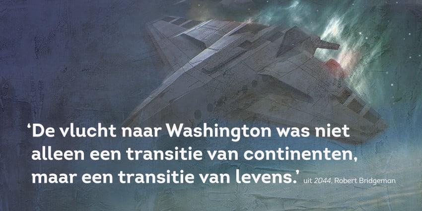 de vlucht washing quote