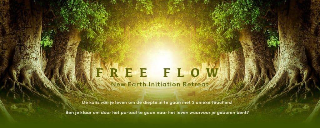 FREE FLOW NEW EARTH INITIATION RETREAT MET JANOSH, ROY MARTINA EN ROBERT